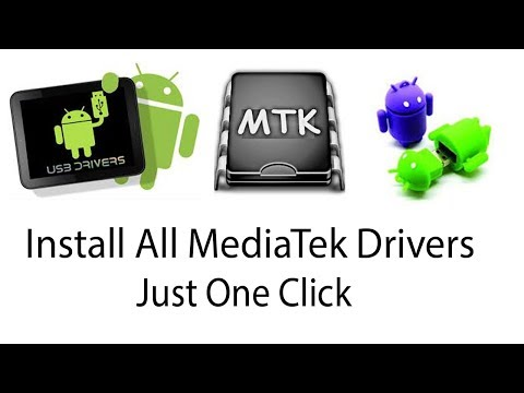 How To Install All MTK Drivers With Just One Click//MTK65xx USB VCOM Drivers Manual Installation