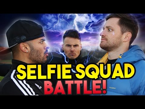 F2Freestylers VS Spencer FC | SELFIE SQUAD BATTLE