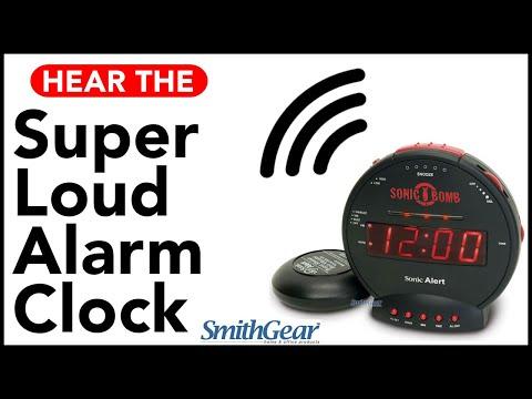Sonic Bomb - Super Loud Alarm Clock From SMITHGEAR
