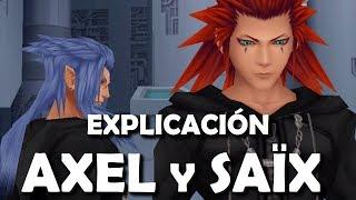 Kingdom Hearts - Relación y Objetivos de Axel/Lea y Saïx/Isa (Explicación Español)