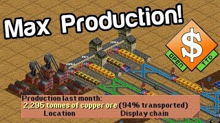OpenTTD Game Mechanics: 01 Industry Production and Station Ratings