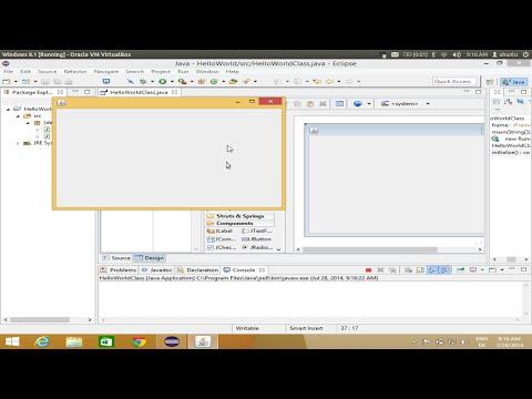 Installing Java WindowBuilder (Gui Designer Plugin ) on Eclipse