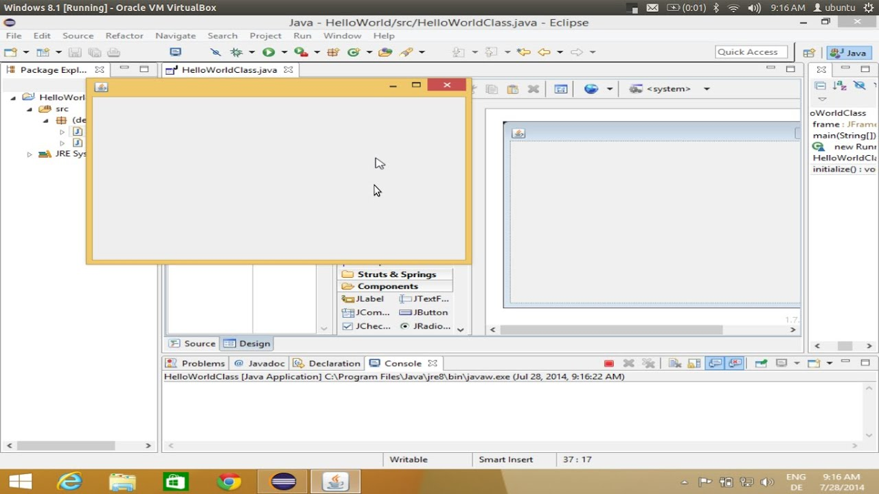 Installing Java WindowBuilder (Gui Designer Plugin ) on Eclipse