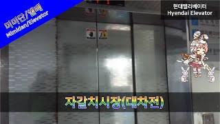 부산광역시 중구 자갈치시장 화물용 현대엘리베이터 대차전…