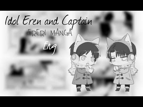 [ERERI MANGA] Shingeki no Kyojin dj – Idol Eren and Captain [Eng]