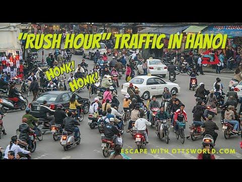 Traffic in Hanoi during