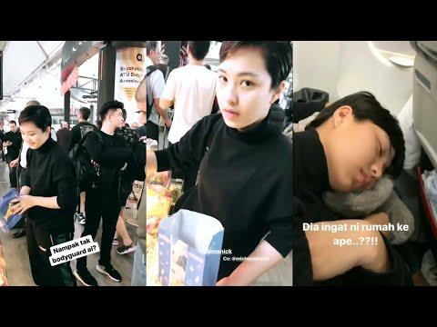 Alvin Chong kata Janna Nick tembam pastu kena balas balik, otw pergi Italy shooting MV
