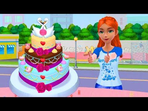 Main Masak Masakan Membuat Kue Barbie Lucu Mainan Anak Perempuan Youtube