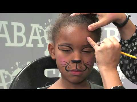 1 2 3 Kitty Super Fast Face Painting