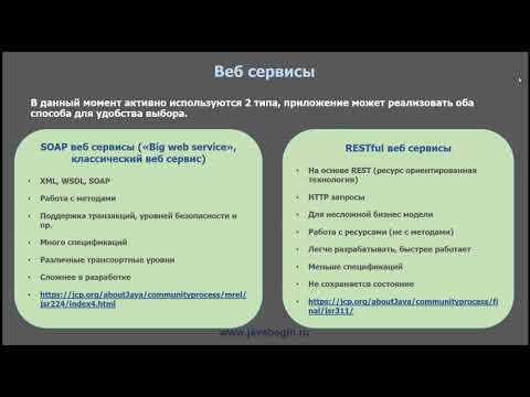 1 Введение в веб сервисы