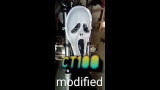 BAJAJ CT 100 modified