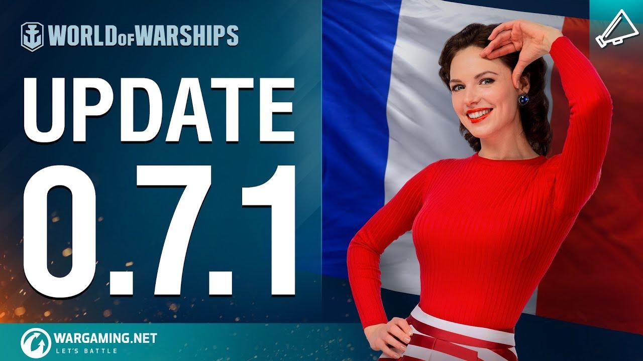 World of Warships – Update 0.7.1
