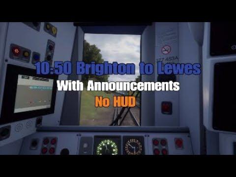 10:50 Brighton - Lewes (Announcements)|East Coastway|TSW |