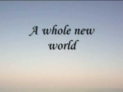 A Whole New World (with Lyrics)