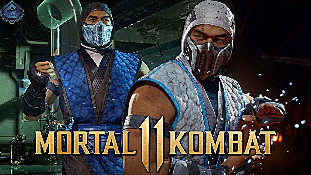 mortal kombat 11 sub zero classic