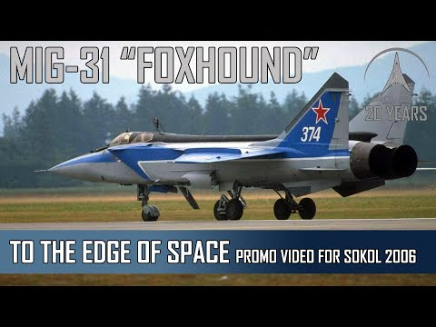 MIG-31 Foxhound / MIG-29 Fulcrum Tandem Flight by SPACE AFFAIRS - 2006