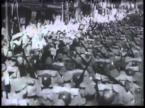 出征兵士を送る歌 - YouTube