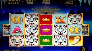 White Tiger Slot Machine *BIG WIN* Live Play Bonus!