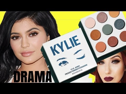 KYLIE COSMETICS BLUE HONEY EYESHADOW PALETTE DRAMA