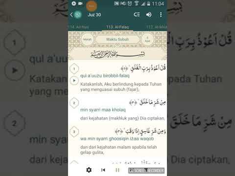 Al Quran Surat Al Falaq Dan Terjemahan Bahasa Indonesia