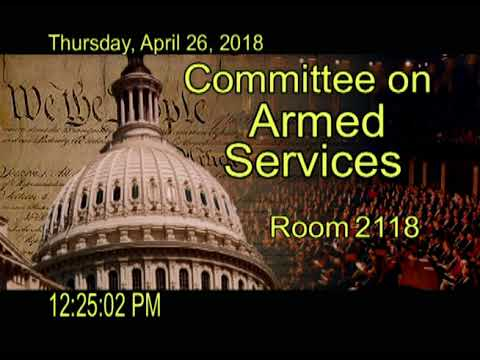 20180426 Tactical Air & Land Forces Subcommittee Markup (ID: 108198)