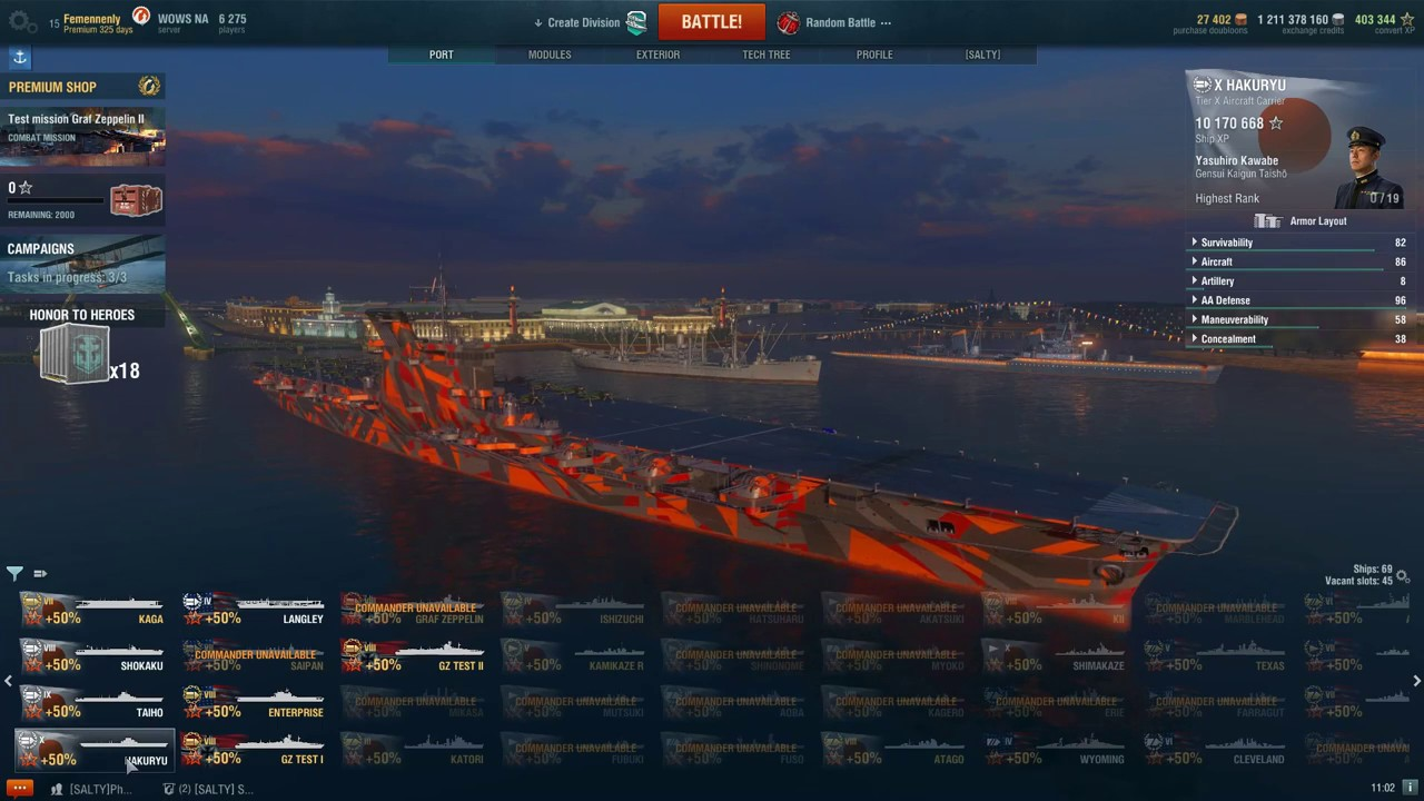 how to play cv in world of warships