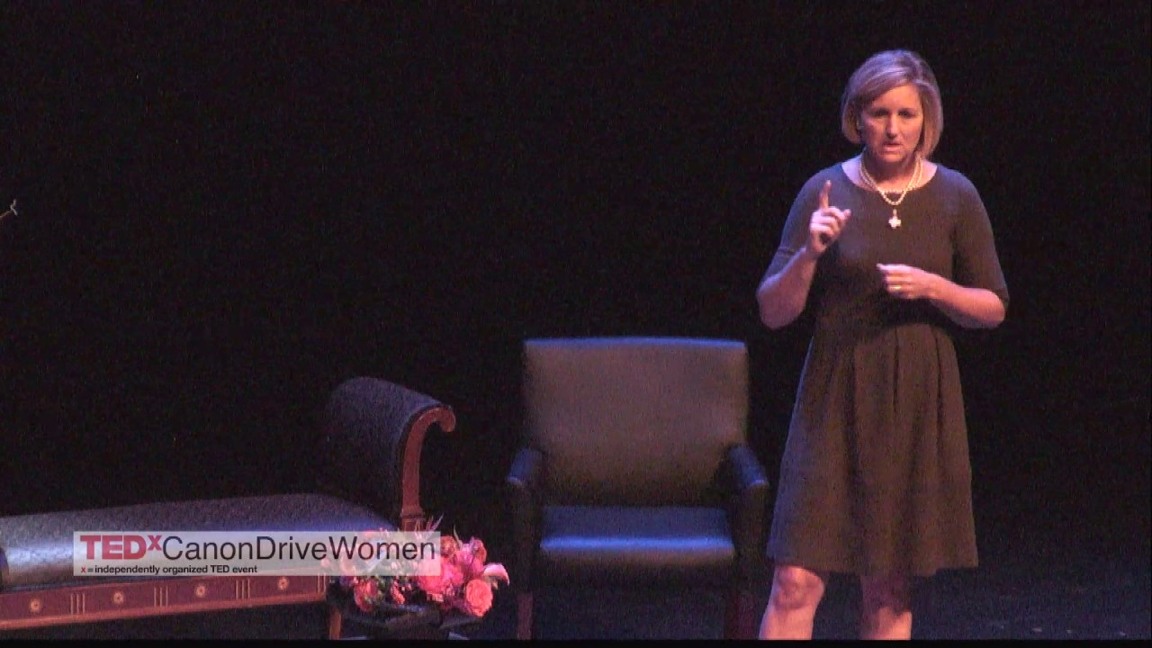 IT IS ABOUT TIME TO REALIZE SMALL STEP MATTERS | Gretchen McCourt | TEDxCanonDriveWomen