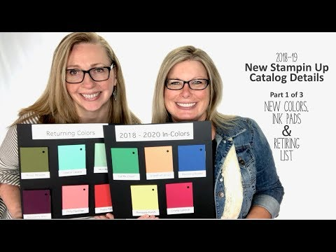 Stampin Scoop New Catalog Details - New Colors, New Ink Pad Design, Retirement List