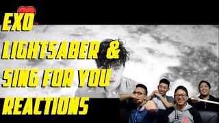 Video [4LadsReact] EXO - Lightsaber and Sing for you MV Reactions download MP3, 3GP, MP4, WEBM, AVI, FLV Juli 2018