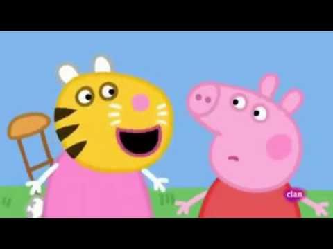 Peppa Pig Vulgar Cap La coletera en el colegio - YouTube