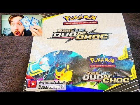 carte pokemon duo de choc Ouverture d'un DISPLAY POKEMON Soleil & Lune DUO DE CHOC ! #1 FULL