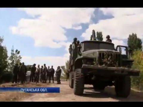 19 сентября 2014, на Луганщине военные готовятся к оборонительным действиям
