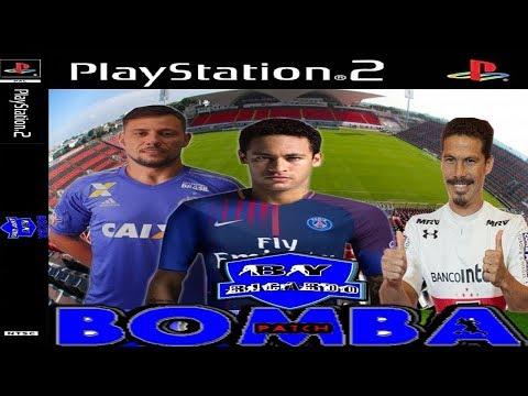 Bomba Patch 77 Gameplay PS2 peça seu amistoso no chat