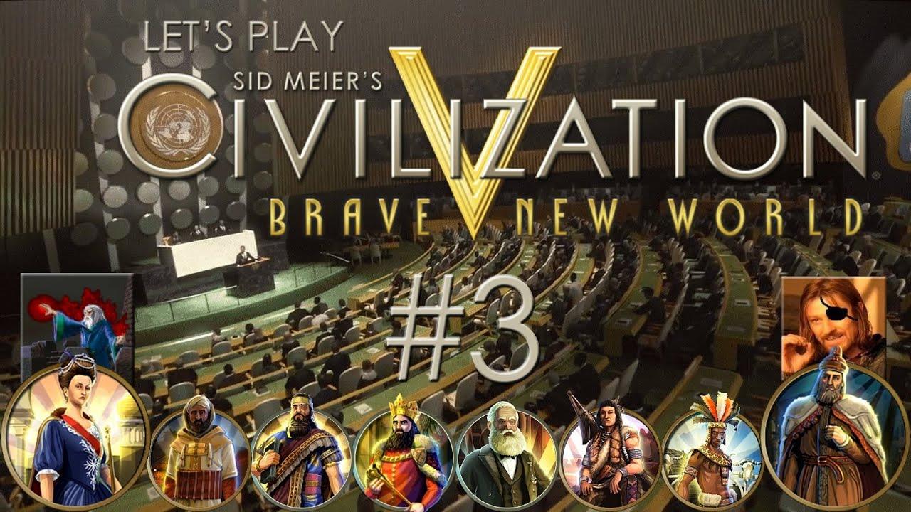 Download Let's Play Sid Meier's Civilization V: Brave New World - Ep. 3: CARAVANS (feat. Cyclops Pirate)