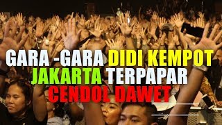 Gara-Gara Didi Kempot, Jakarta Terpapar CENDOL DAWET
