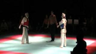 【09.06.07】第20回 2009東北硬式空手道選手権大会 一般有段中量級 決勝