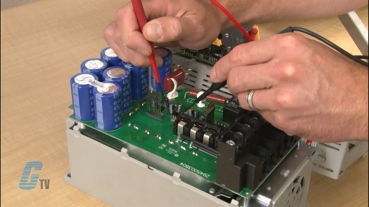 galco repairs allen bradley powerflex 40 ac drive [ 1280 x 720 Pixel ]
