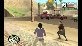 GTA San Andreas - Izuna Uchiha (SKIN)
