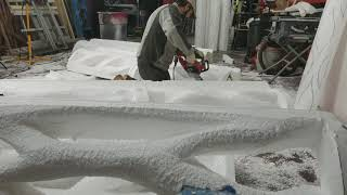 Foaming: Creating new facade pieces!