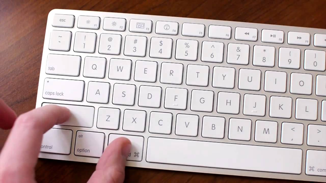 apple keyboard for pc windows 10