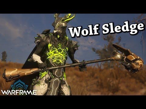 Warframe | Wolf Sledge (2 Forma Build) thumbnail