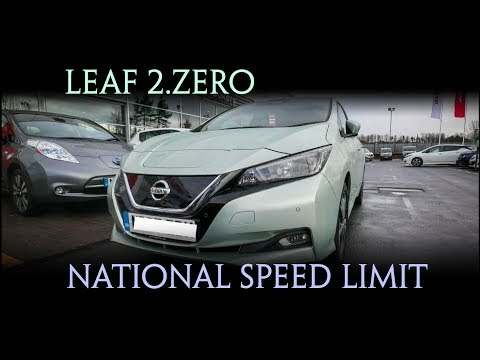 Leaf 2.zero going at National Speed Limit (ish) Glasgow to E