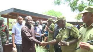 Rais Magufuli awasili Ikulu ya Chamwino Dodoma tayari kwa vika…
