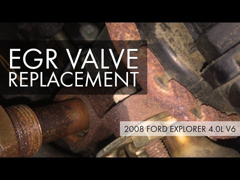 2008 Ford Explorer 4.0L V6 EGR Valve Replacement – Moderately Difficult