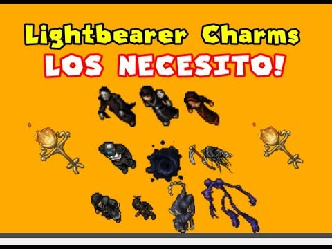 Tibia Lightbearer charms