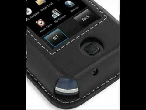 PDair Leather Case for Samsung Glyde SCH-U940 - Sleeve Black