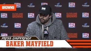 Baker Mayfield Postgame Press Conference vs. Dolphins | Cleveland Browns