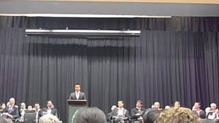 Trinity Grammar School's School Officer's Induction Speech 2018 - What is Leadership?