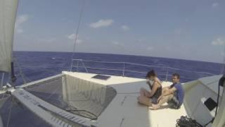Ibiza en catamaran Eclipse 472 juillet 2016
