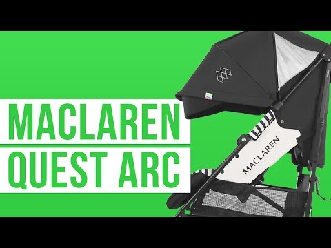 Maclaren Quest Arc 2019 | Umbrella Stroller | Full Review